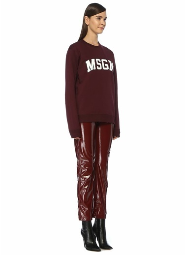 MSGM Sweatshirt Bordo